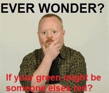 Do you ever? OC. Come on admit it, you do! OC. EVER WONDER?