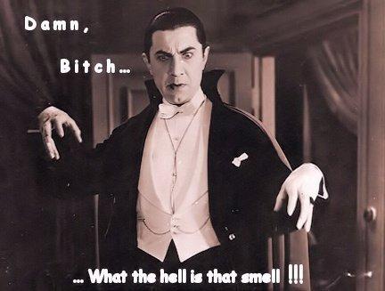 dracula smell. .