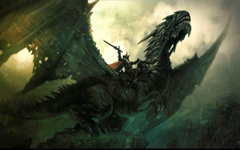 Dragon. ... I summon thee eternal dragon, Rise!
