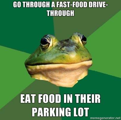 drivethrough. you relate, you lose. Ell ll HISTORI][ DRIVE- EM mun Bl mun maxim: [arm t? ryi' iit' ' arror mtl. What if it is burger hop style like Sonic?