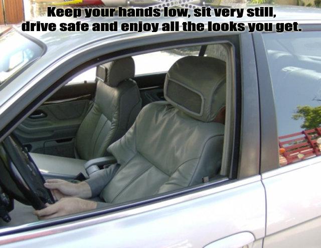 Driving. .