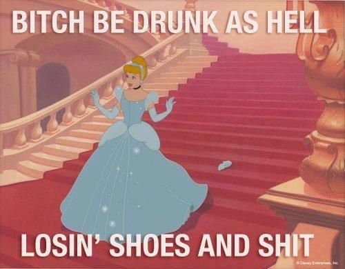 Drunk. .
