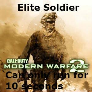 Elite Soldier. .. douche