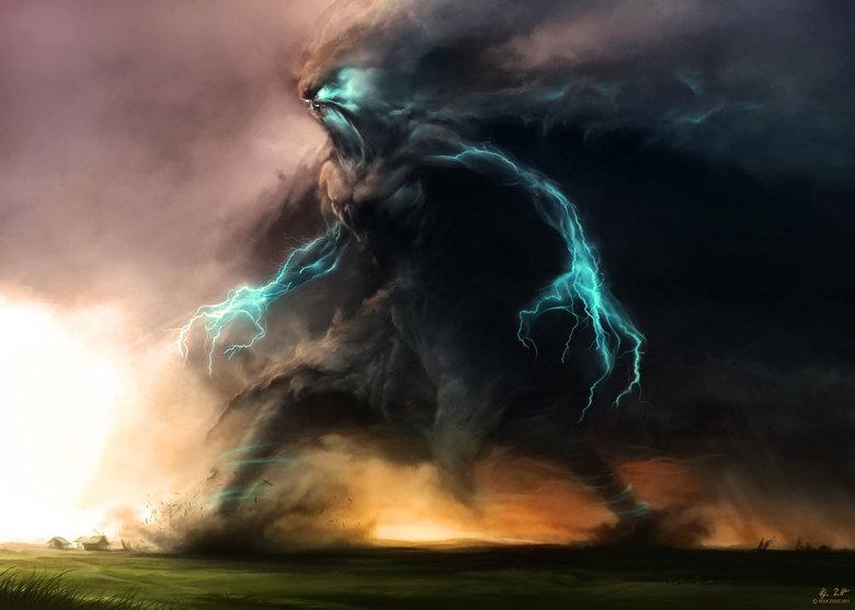 epic storm. .. Reminds me of Hercules
