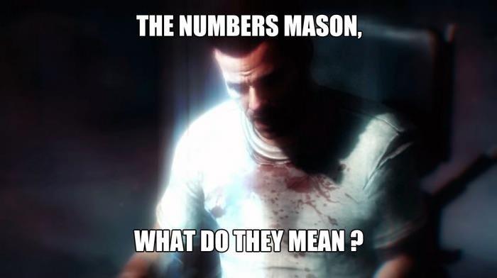 """Everyday in Math class. """"Dragovich, Kravchenko, Steiner. All must die."""". THE NUMBERS MASON."""