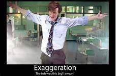 exageration. . tica