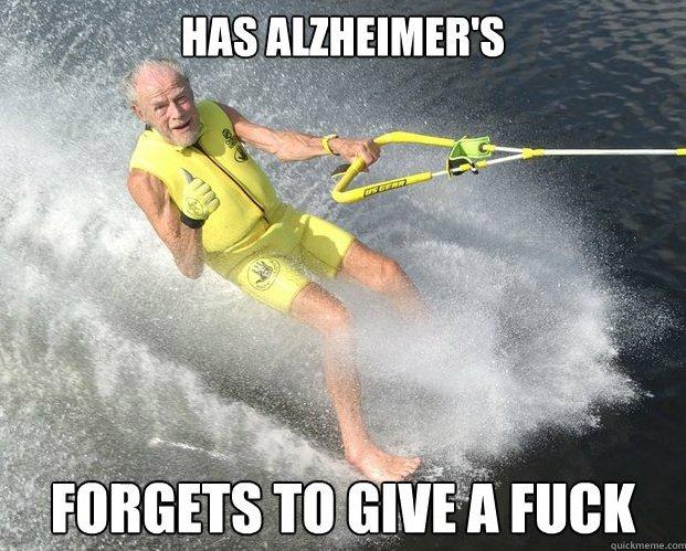 Extreme Senior Citizen. .