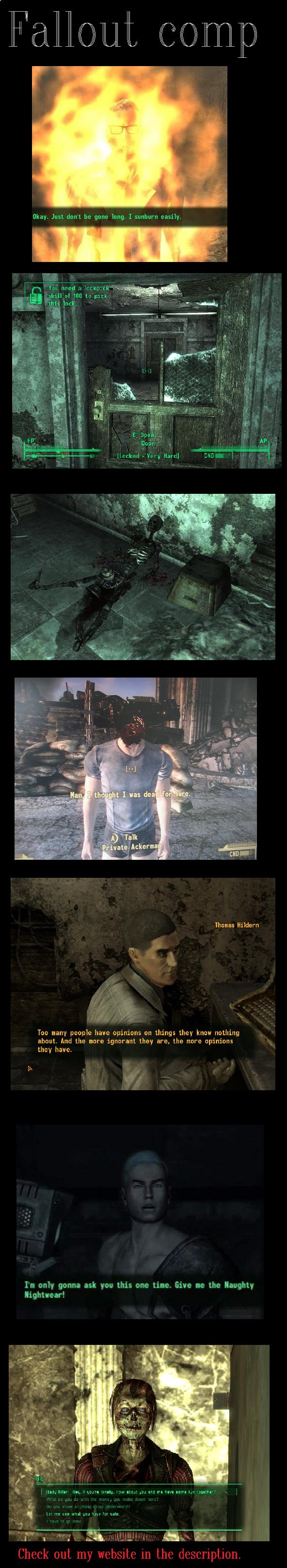 Fallout comp 1. .