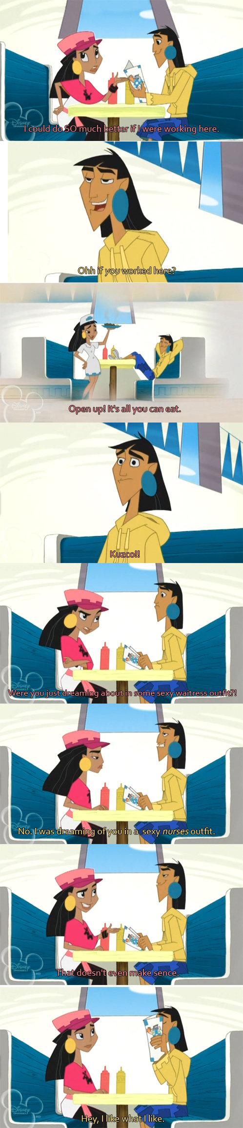 Fantasies Don't Need To Make Sense. That's why their fantasies... Nurse... Waitress... Or schoolgirl?