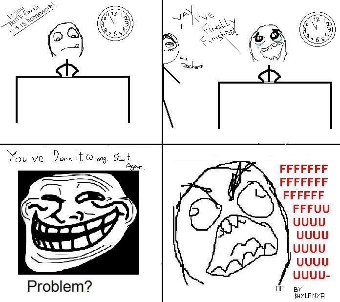 FFFFUUUUU. OC.<br /> True story..
