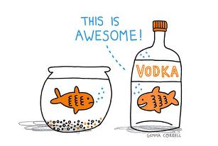 fish is kill.... .