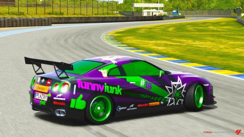 "fj car. i created a fj car in forza motorsport 4 i know it isnt funny. i just want to show ya.. You created ""a"" fj car???"