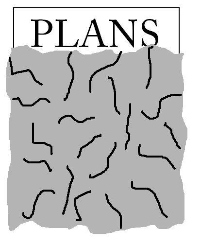 foiled plans. it's aluminum foil.