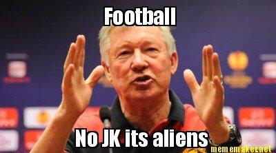 football. herp. of K Its aliens' BEE Irlegit El