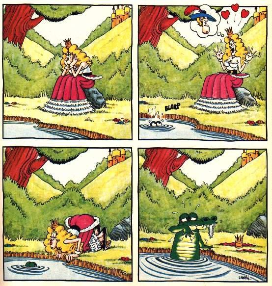 Frog Prince?. Damn Nature! You scary!.