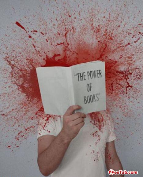 fuck books. .