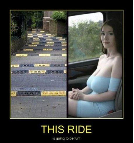fun ride. wouldnt you.