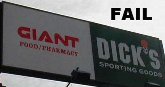 Giant Dicks. Sign Fail with Giant Dicks.. yeaaaa