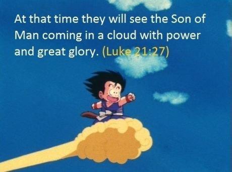 Goku the savior. .. Goku is Love Goku is Peace