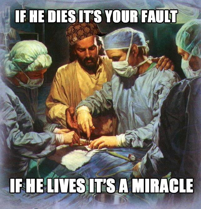 Good Guy Jesus. Good Guy Jesus.. I do believe you mean Scumbag Jesus!