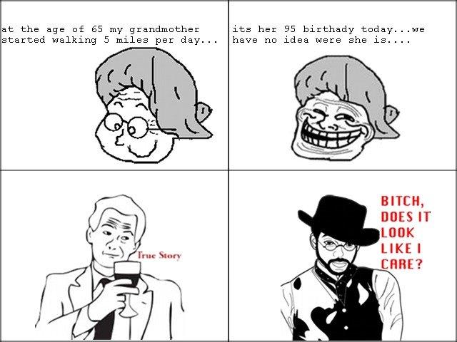 grandmother troll. .