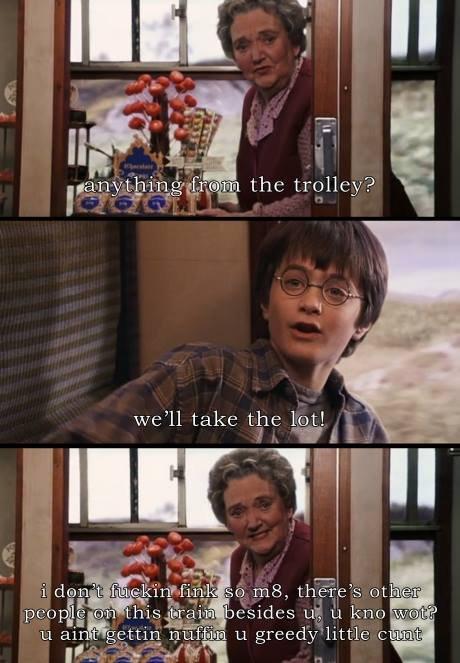 Greedy Potter. .. But Im the chosen hwone!