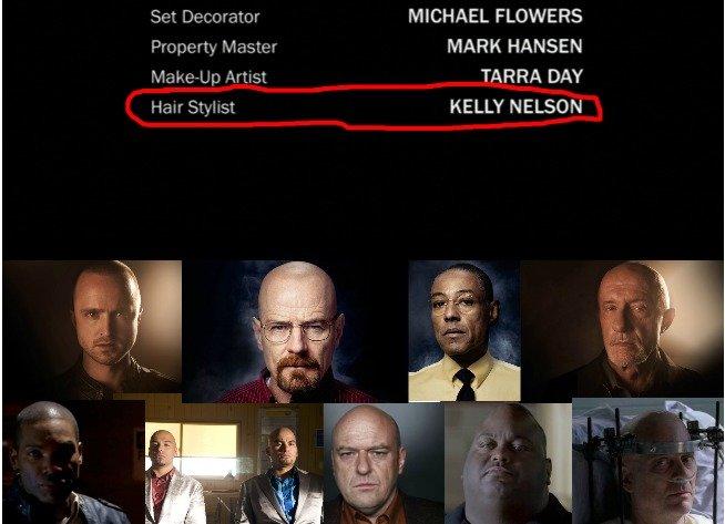 hair stylist !?. just wondered. Set MICHAEL FLOWERS MARK HANSEN Vilage, splc, TARRA DAY Hair Stylist KELLY NELSON. She waxes their domes.