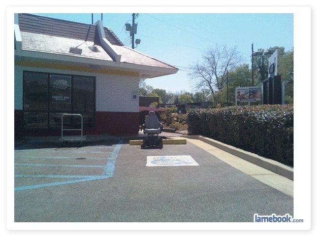 Handicap Parking. .. lmao tags