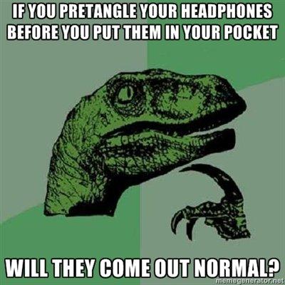 Headphones. I bet ya this is true. BEFORE mu PM THEM