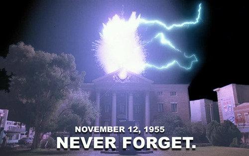 hehe. hehe. NOVEMBER 12, 1955 f NEVER FORGET.. Remember remember the 5th of November the gun powder treason and plot, I know of the reason the gunpowder treason, should ever be forgot. Remember remember the