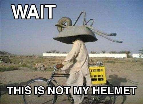 Helmet. Found it somewhere. WAIT. AHHH A LEECH!!!!!!!
