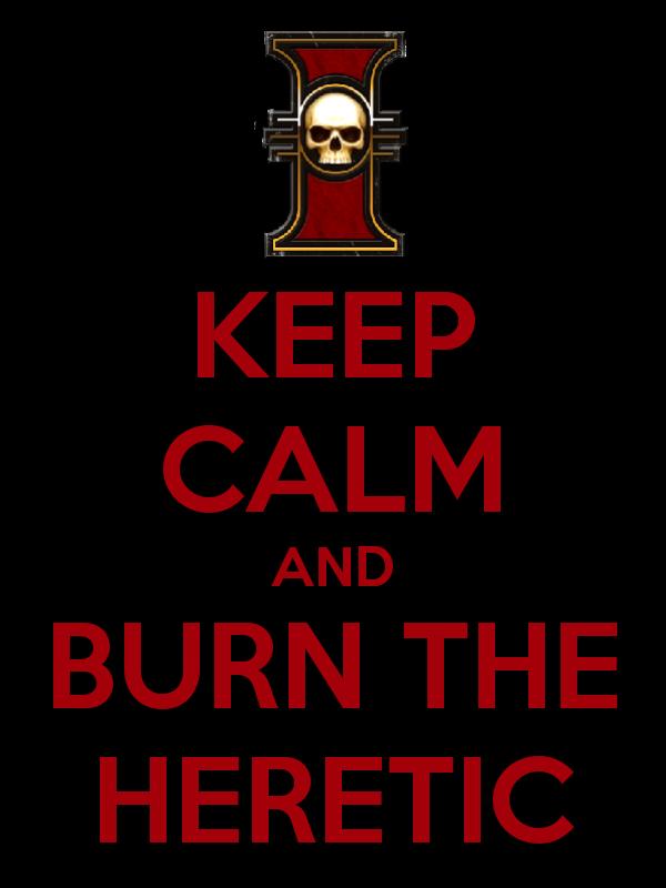 heresy. .