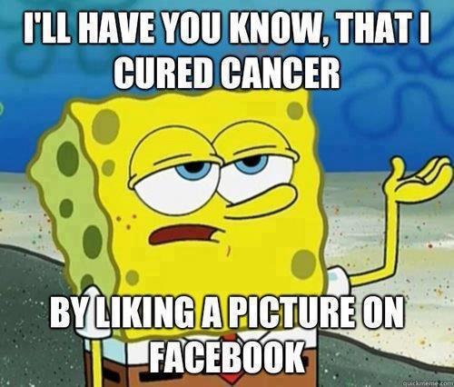 hi. . I' ll WWI I( NOW. THIN I. speaking of cancer...