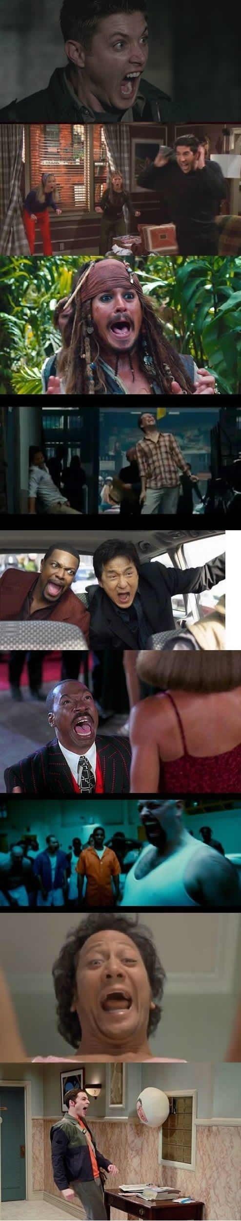 Hilarious freakouts. .