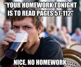 Homework.... .