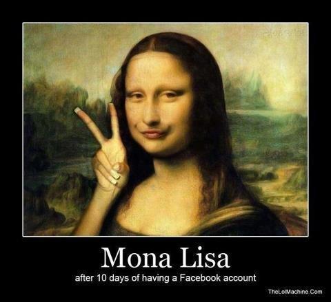 #hottieforeverduckfacesexiandiknowit. . Mona Lisa alter 10 days of having a Fa-: : rcn: ric amount hinta (Merl