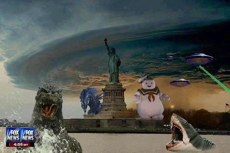 Hurricane Sandy. Seems Legit.