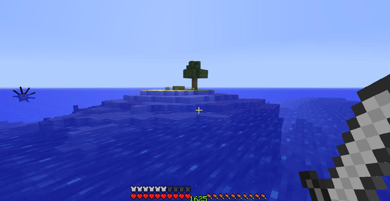 I found Bikini Bottom. Even Spongebob is in minecraft.