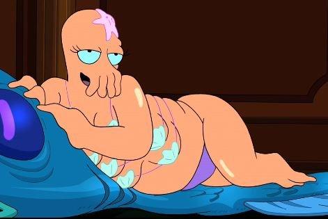 I heard you liked boobs. Why not Zoidberg?.