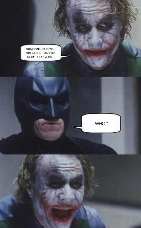 I kinda chuckled. What a hoot..