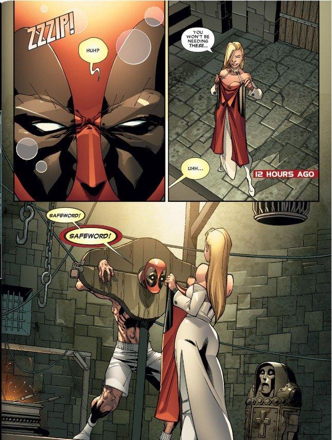 I love you, Deadpool.. Best idea of my life to buy a Deadpool comic..
