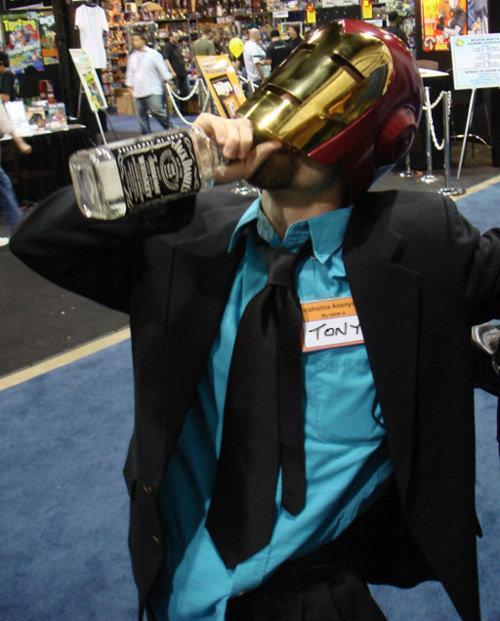 I am Iron Man. The Real Tony Stark<br /> ( via ).. Anyone got a match?