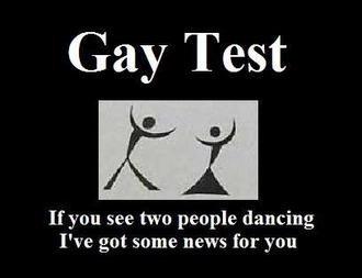 scientific gay test