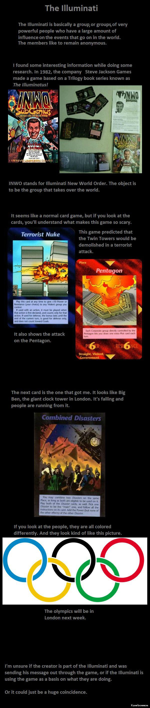 Illuminati. . Terrorist Nuke Flare V Pentagon mtg»: mu Eiri WWE ' T, Tpir tun. Actually its not predicting a disaster at the London Olympics, its predicting Mass Effect 3