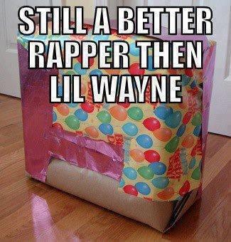 im a wrapper. i listen to classical music. amen ,. THAN