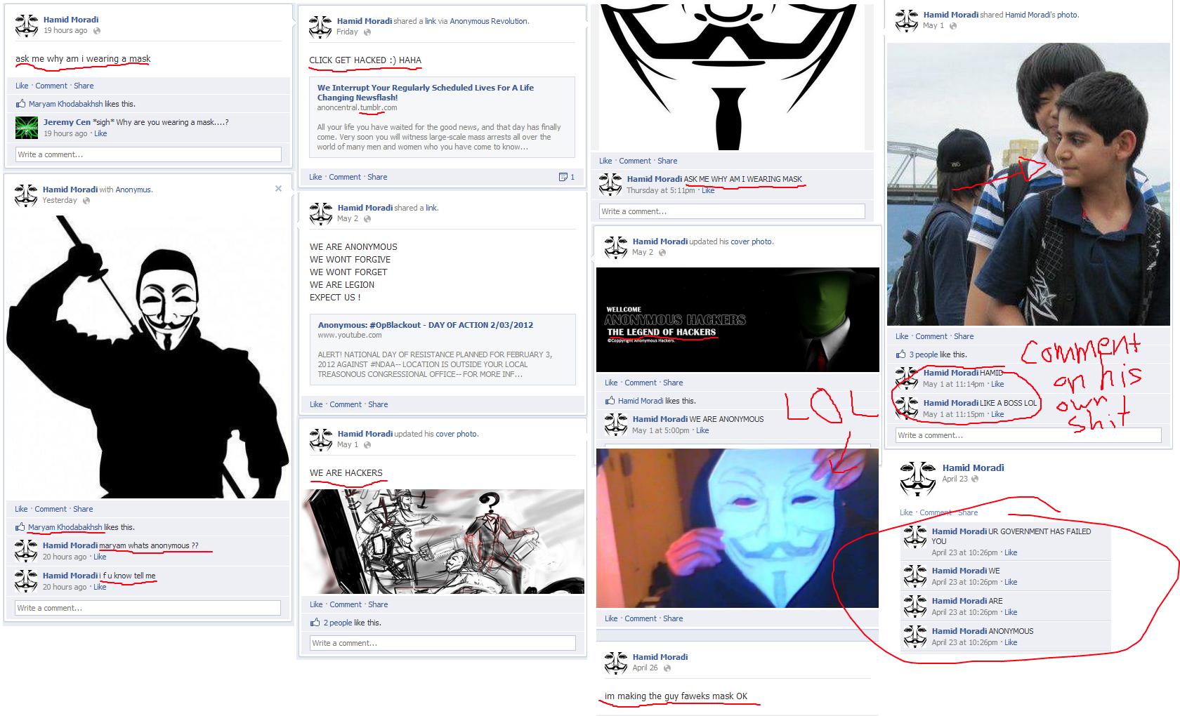 im an anonymous!!!!!1eleven. Make way for Mr. Badass. Iii. Hamid Mirada E Hamid a link via Anonymous Revolution, tijd, Fl-: ',?' Hamid Mirada' s phat). w 19 hou