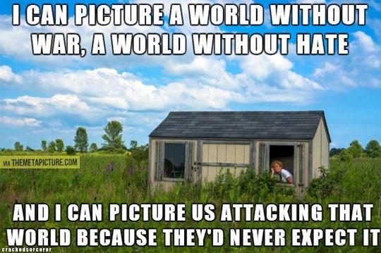 "Imagine a perfect world. CARTOON: Minecraft Mob Squad: www.crackedsorcerer.com/post/1273/Ep-7-Mob-Squad. rall, mam Hana mm I MIN PICTURE "" "" THIN I' IKEY' NEVER"