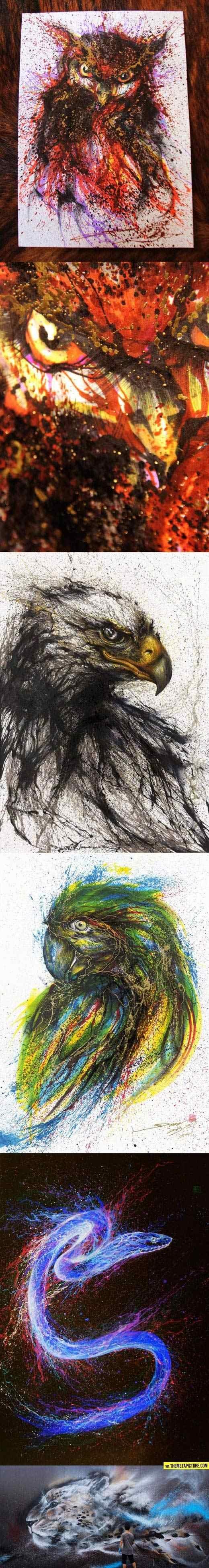 ink splatter. .. Artists name?