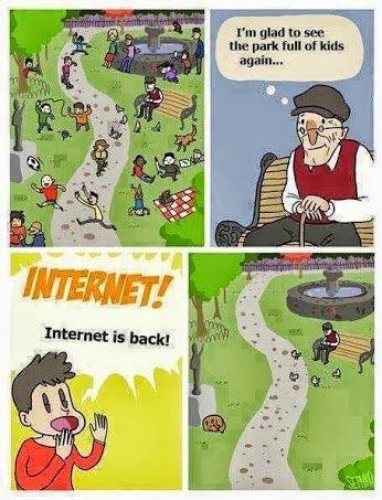 internet. sad, but true. again...