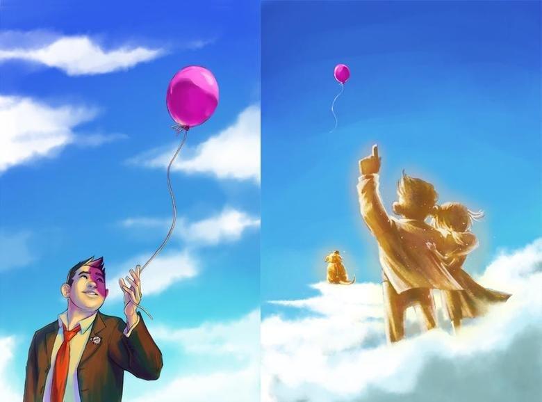 It's Been An Adventure, Mr. Fredricksen. Don't cry Don't cry Don't cry I'm crying.
